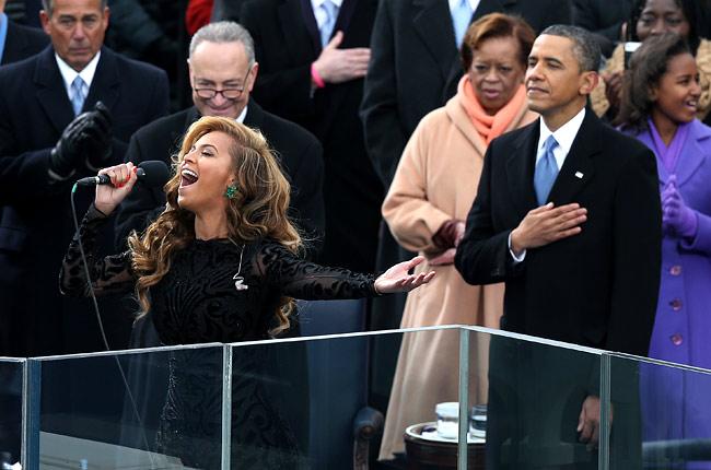 Inauguration Obama Beyoncé