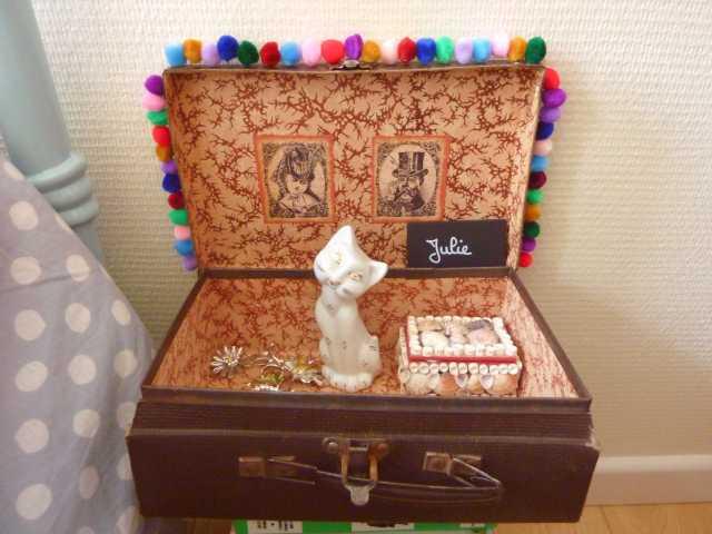 chevet valise