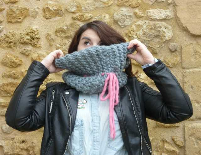 snood Wool ma poule