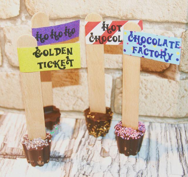 bâtonnets chocolat