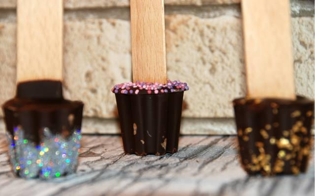 détail stcik chocolat