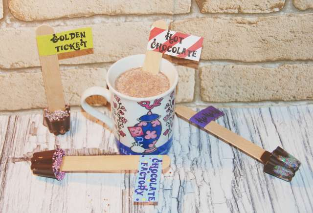 tasse stick chocolat
