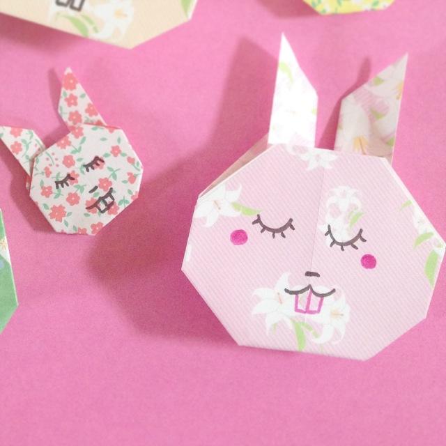 lapin origami 1