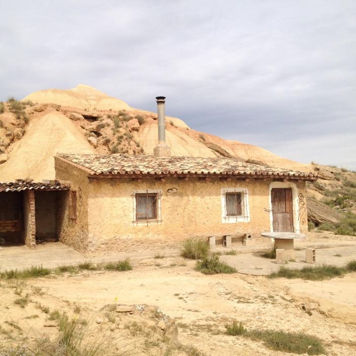 Bardenas-maison